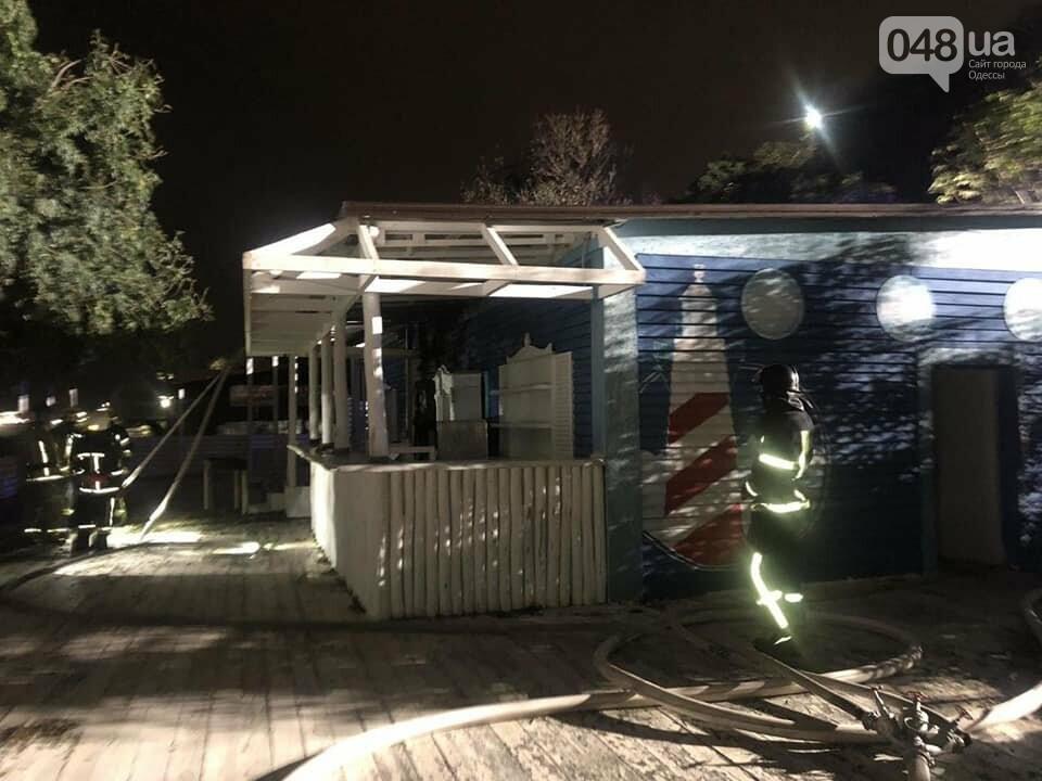 В Одессе горел ресторан, - ФОТО, фото-2