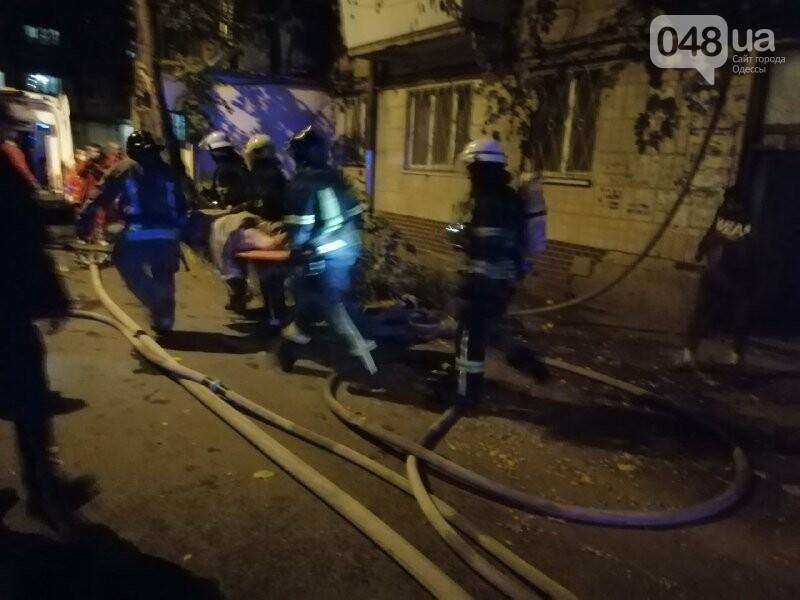 В Одессе, во время пожара квартиры, пострадала пожилая женщина, - ФОТО, фото-2