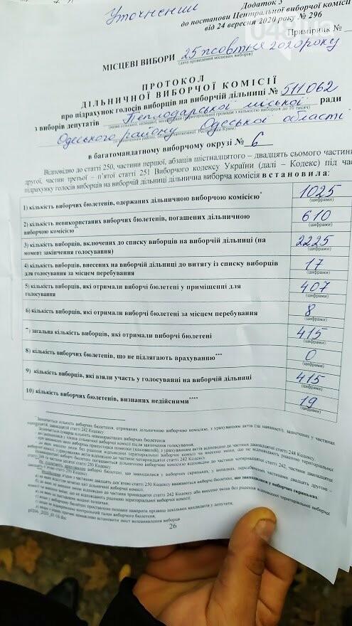 Исправленный протокол., ФОТО: Александр Жирносенко