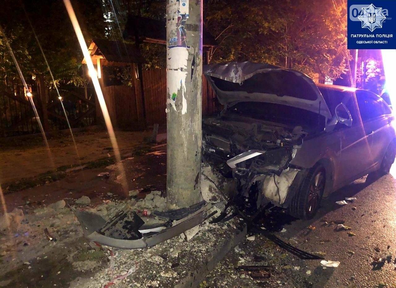 Ранним утром в ДТП получила травмы 18-летняя девушка, - ФОТО, фото-1