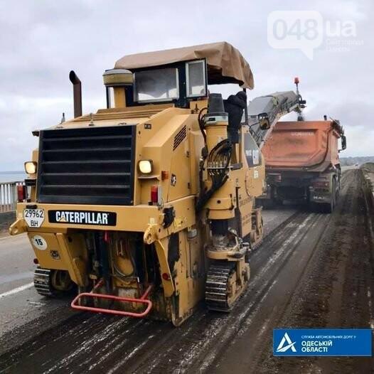 В Одесской области начали ремонтировать трассу на Новоазовск, - ФОТО, фото-1