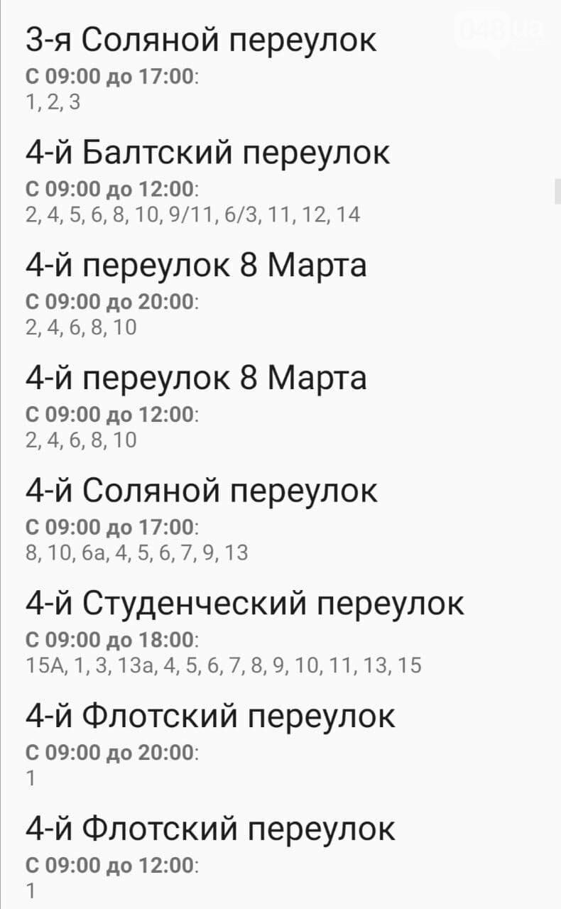 Отключения света в Одессе завтра: график на 4 ноября , фото-10