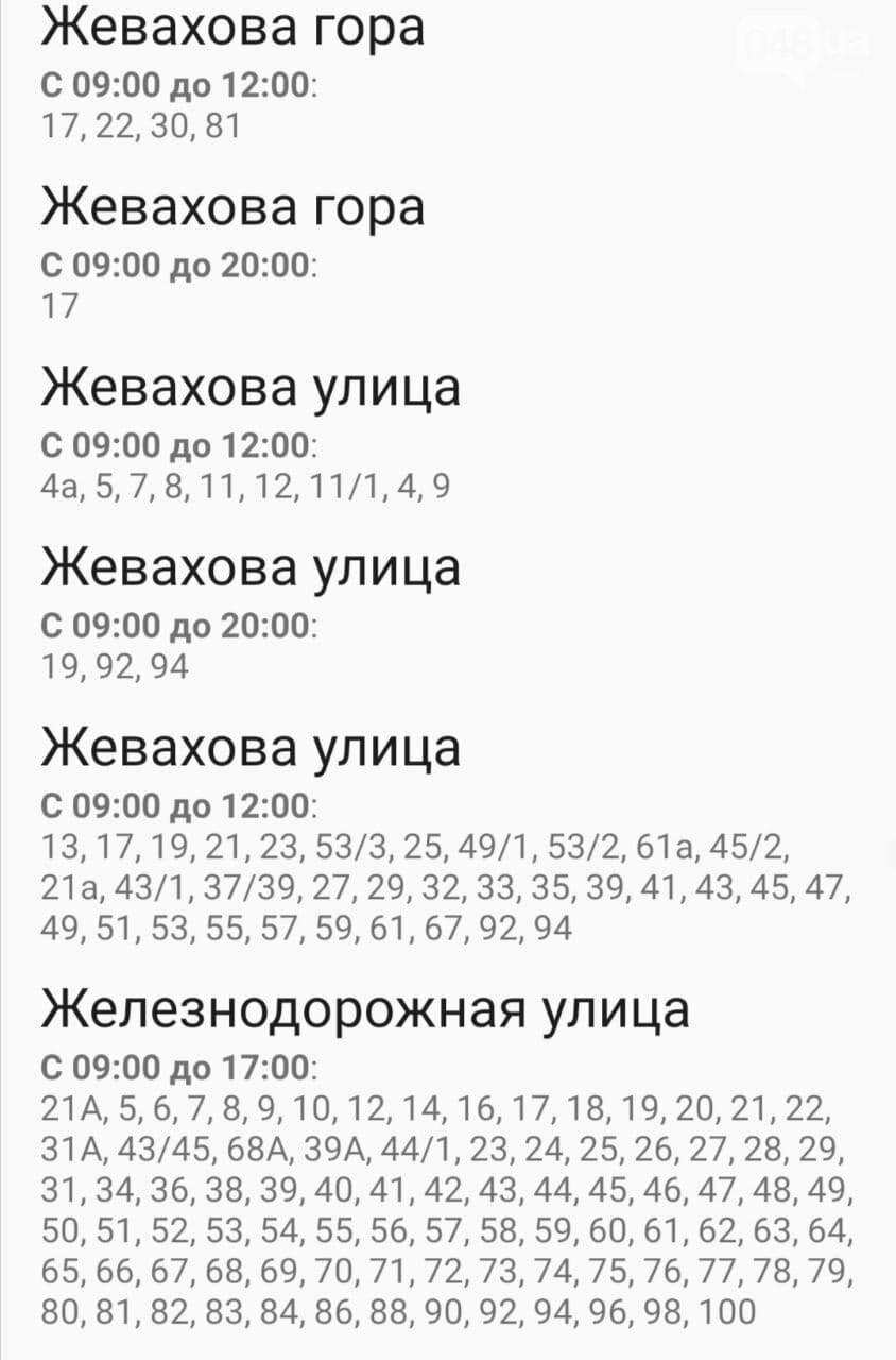 Отключения света в Одессе завтра: график на 4 ноября , фото-24
