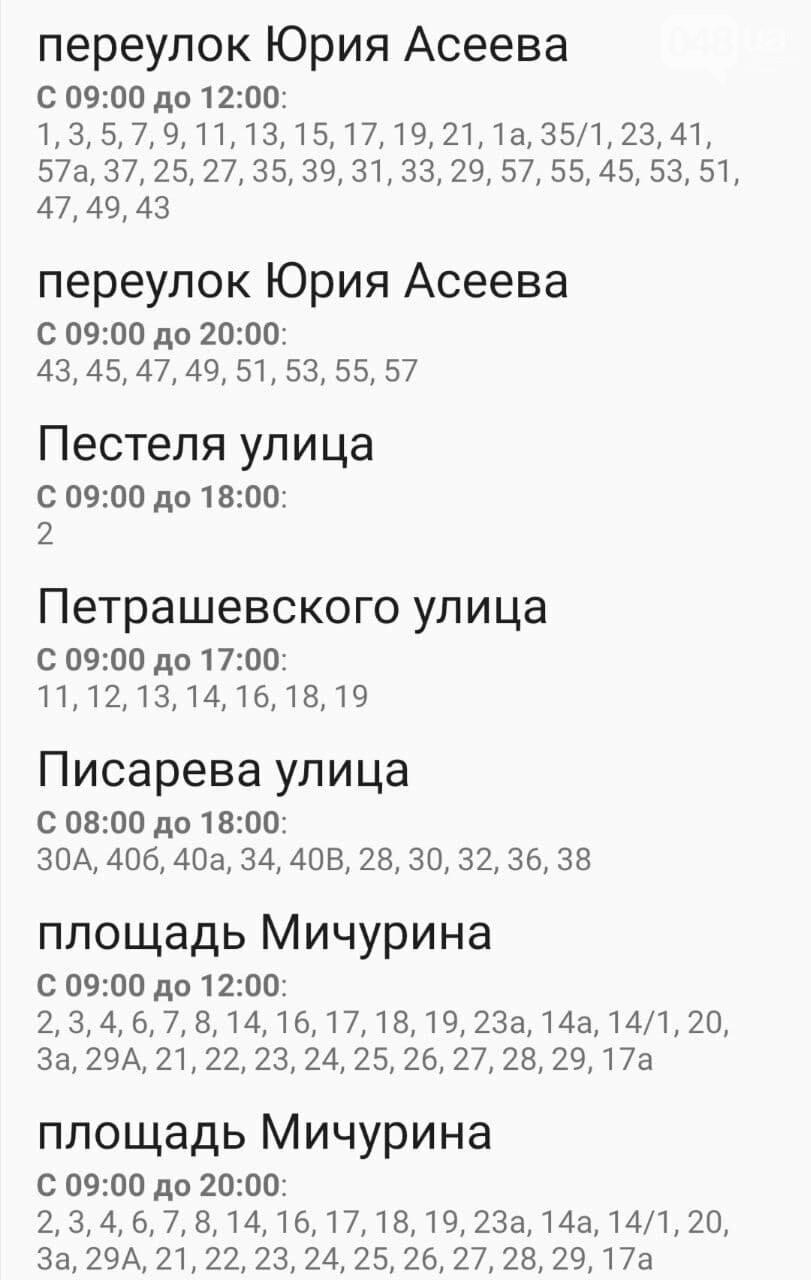 Отключения света в Одессе завтра: график на 4 ноября , фото-35