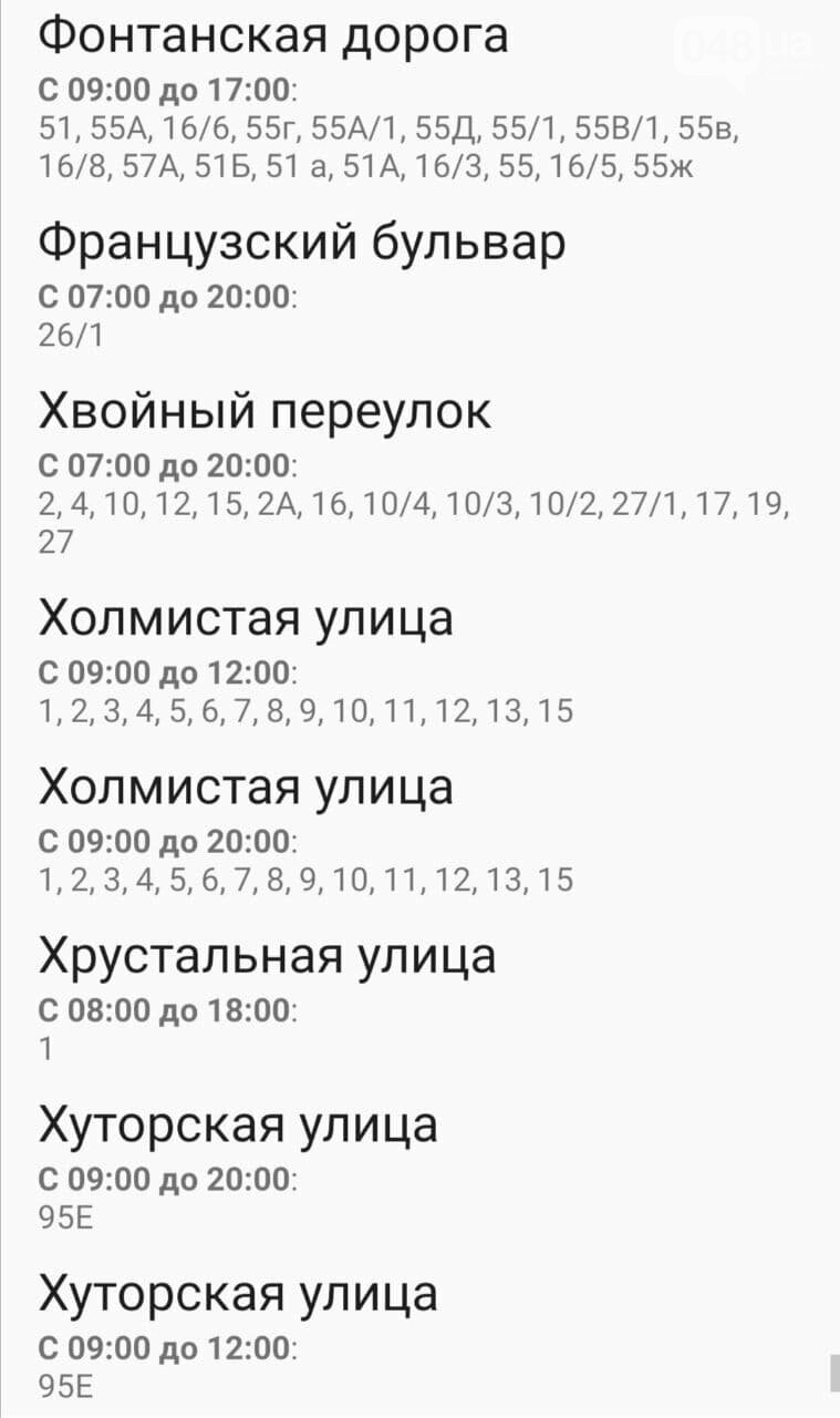 Отключения света в Одессе завтра: график на 4 ноября , фото-41