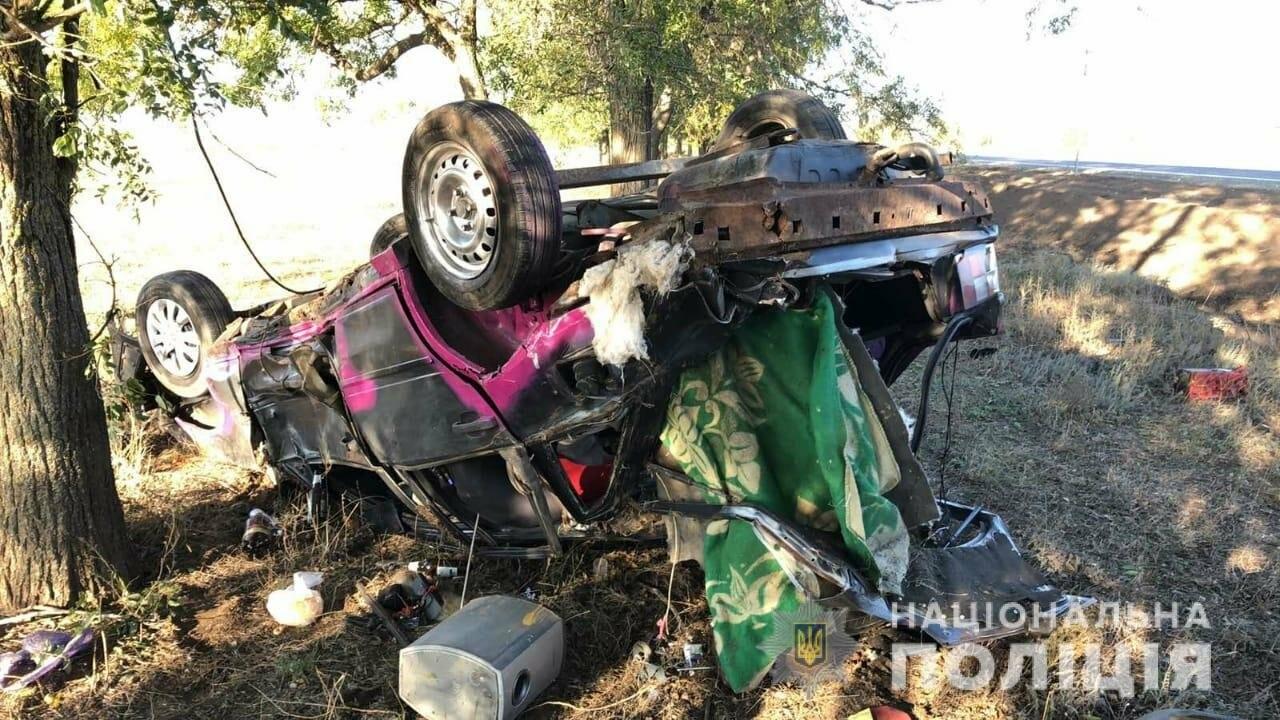 В Одесской области автомобиль съехал в кювет и перевернулся..., фото-11