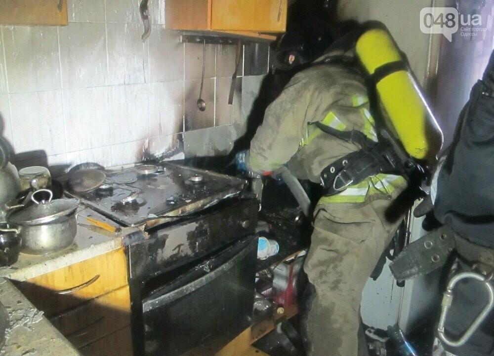 В Одессе тушили пожар в квартире на десятом этаже, - ФОТО, фото-2