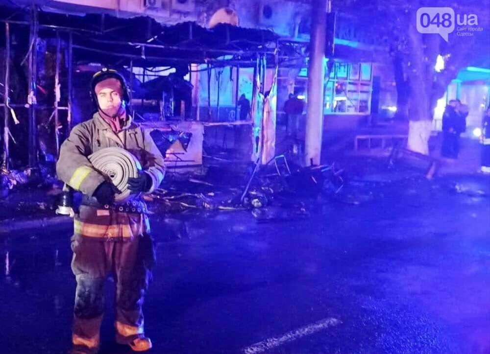 Горячая шаурма: в Одессе ночью сгорел киоск,- ФОТО, фото-22
