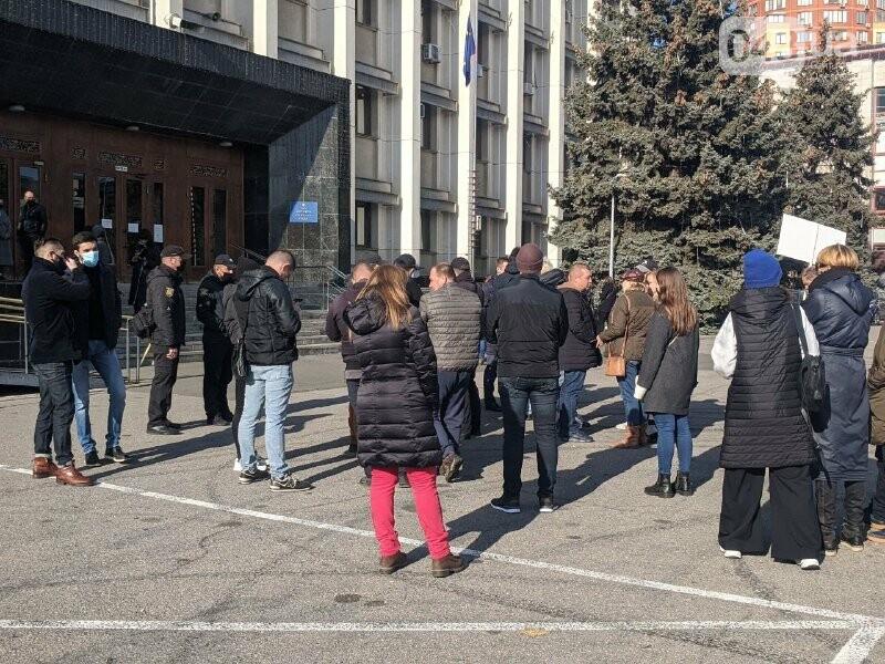В Одессе предприниматели митингуют против карантина выходного дня, - ФОТО2