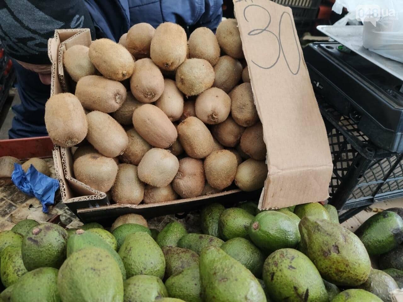 Авокадо, киви, белые грибы: сколько на одесском Привозе стоят фрукты и овощи, - ФОТО, фото-5