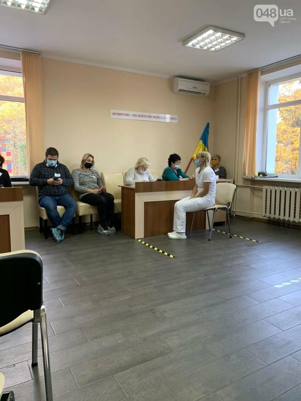 В Одессе на избирательный участок не пускали наблюдателя ОПОРЫ, - ФОТО, фото-1
