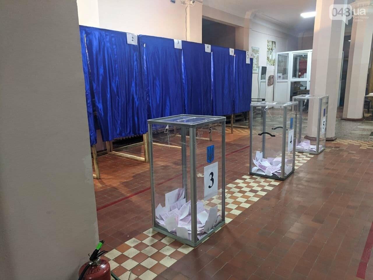 Закрытие избирательного участка