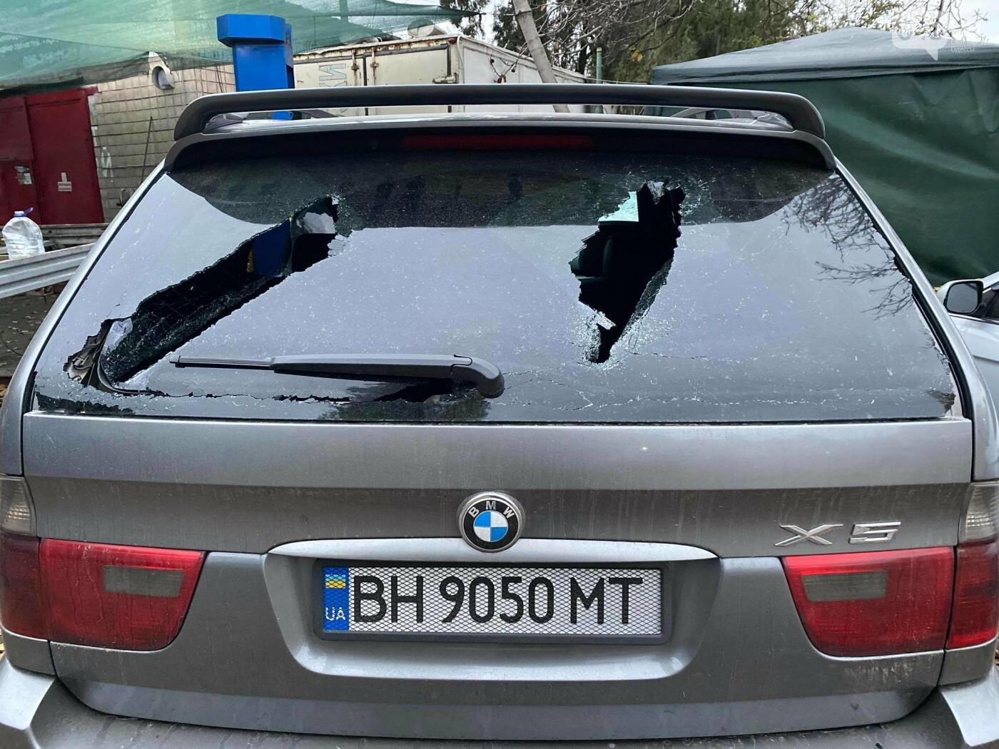 В День достоинства и свободы в Одессе разбили битами автомобиль активиста,- ВИДЕО, ФОТО, фото-2