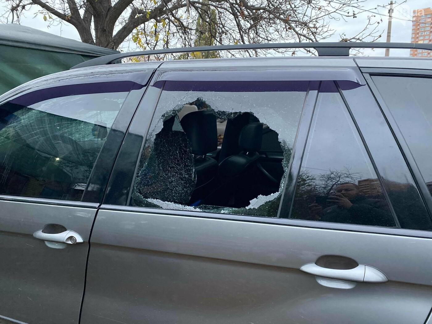 В День достоинства и свободы в Одессе разбили битами автомобиль активиста,- ВИДЕО, ФОТО, фото-3