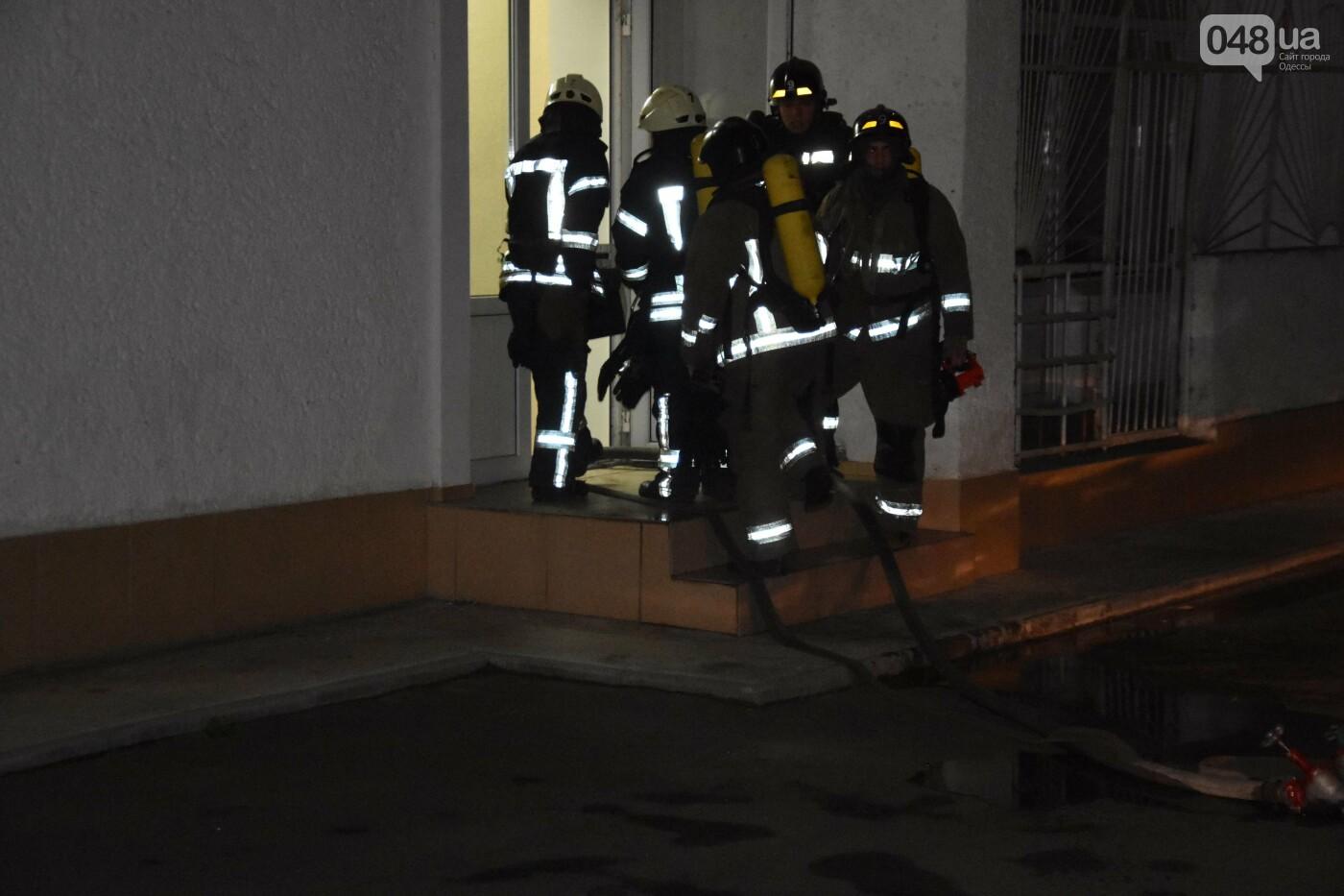 В Одессе вечером горело общежитие юридической академии, - ФОТО, фото-4
