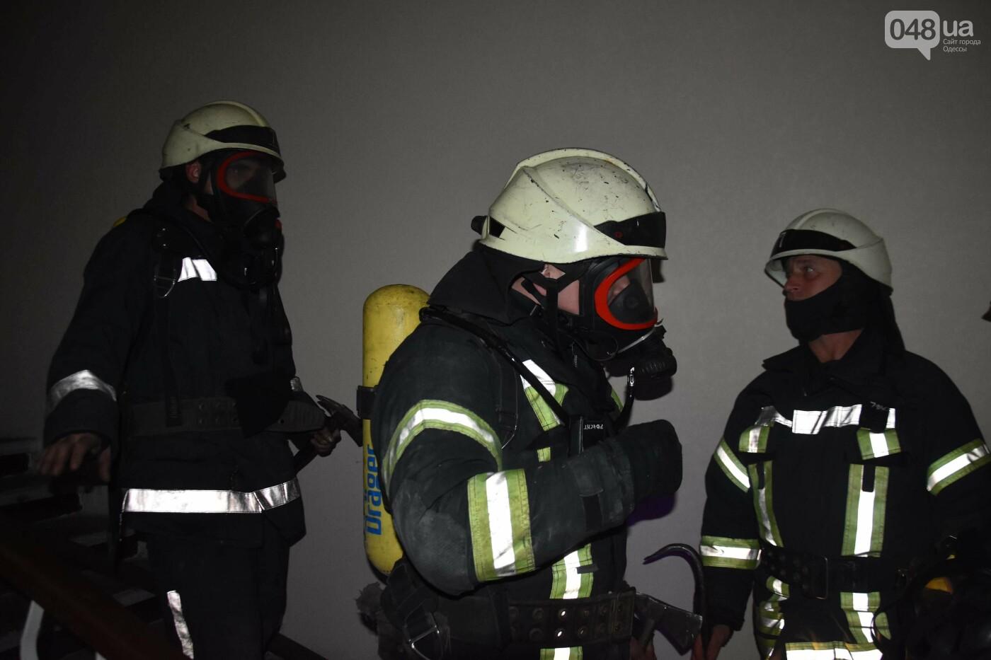 В Одессе вечером горело общежитие юридической академии, - ФОТО, фото-6
