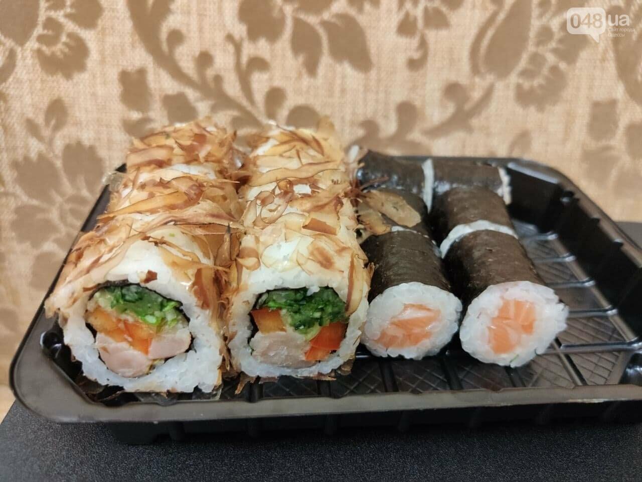 Тестируем доставку килограммового набора роллов из популярной сети суши-баров в Одессе, - ФОТО, фото-8