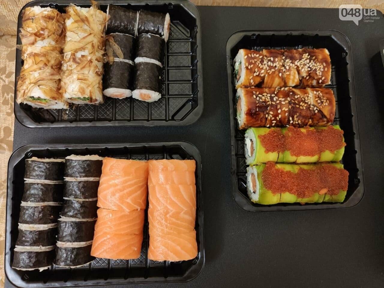 Тестируем доставку килограммового набора роллов из популярной сети суши-баров в Одессе, - ФОТО, фото-4