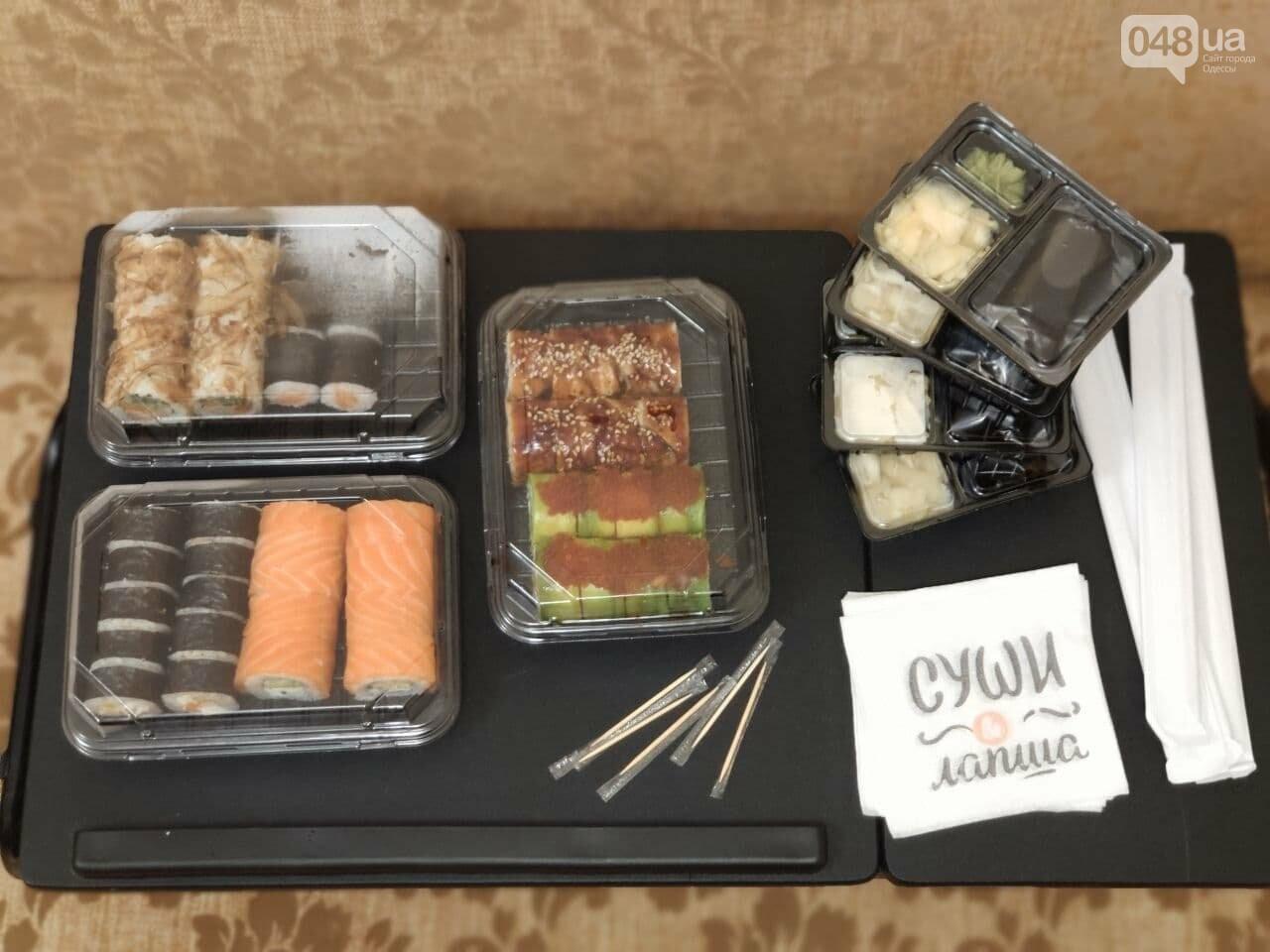 Тестируем доставку килограммового набора роллов из популярной сети суши-баров в Одессе, - ФОТО, фото-3
