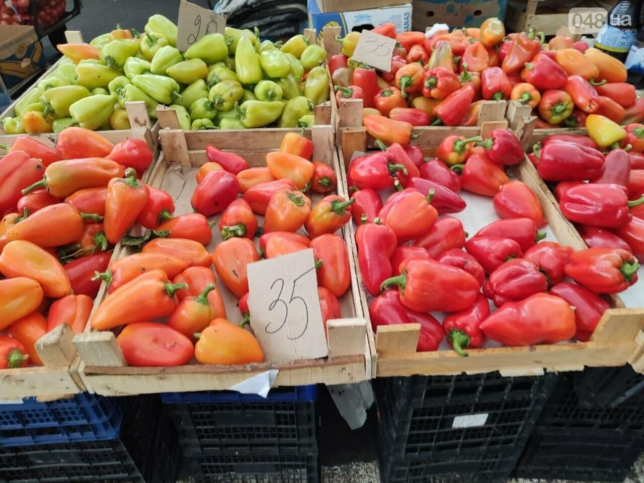 Помело, имбирь, шампиньоны: почем на одесском Привозе овощи и фрукты, - ФОТО, фото-1