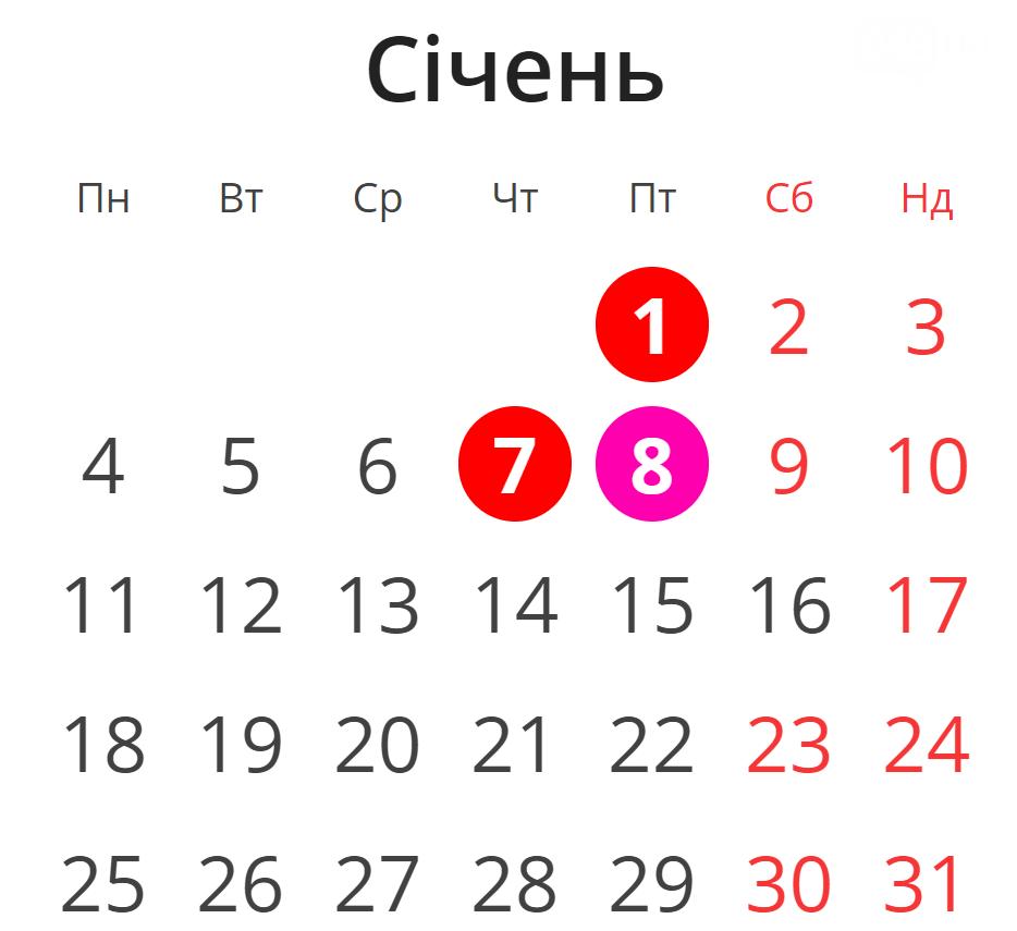 Сколько дней в новогодние и рождественские праздники будут отдыхать одесситы, фото-2