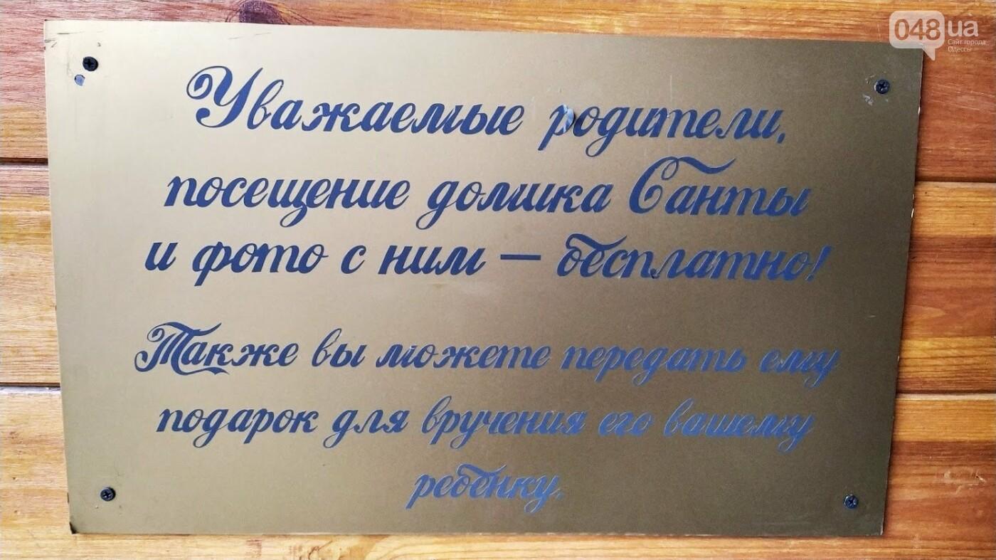 В Одессе установили домик Санты, - ФОТО, фото-6, ФОТО: Александр Жирносенко.