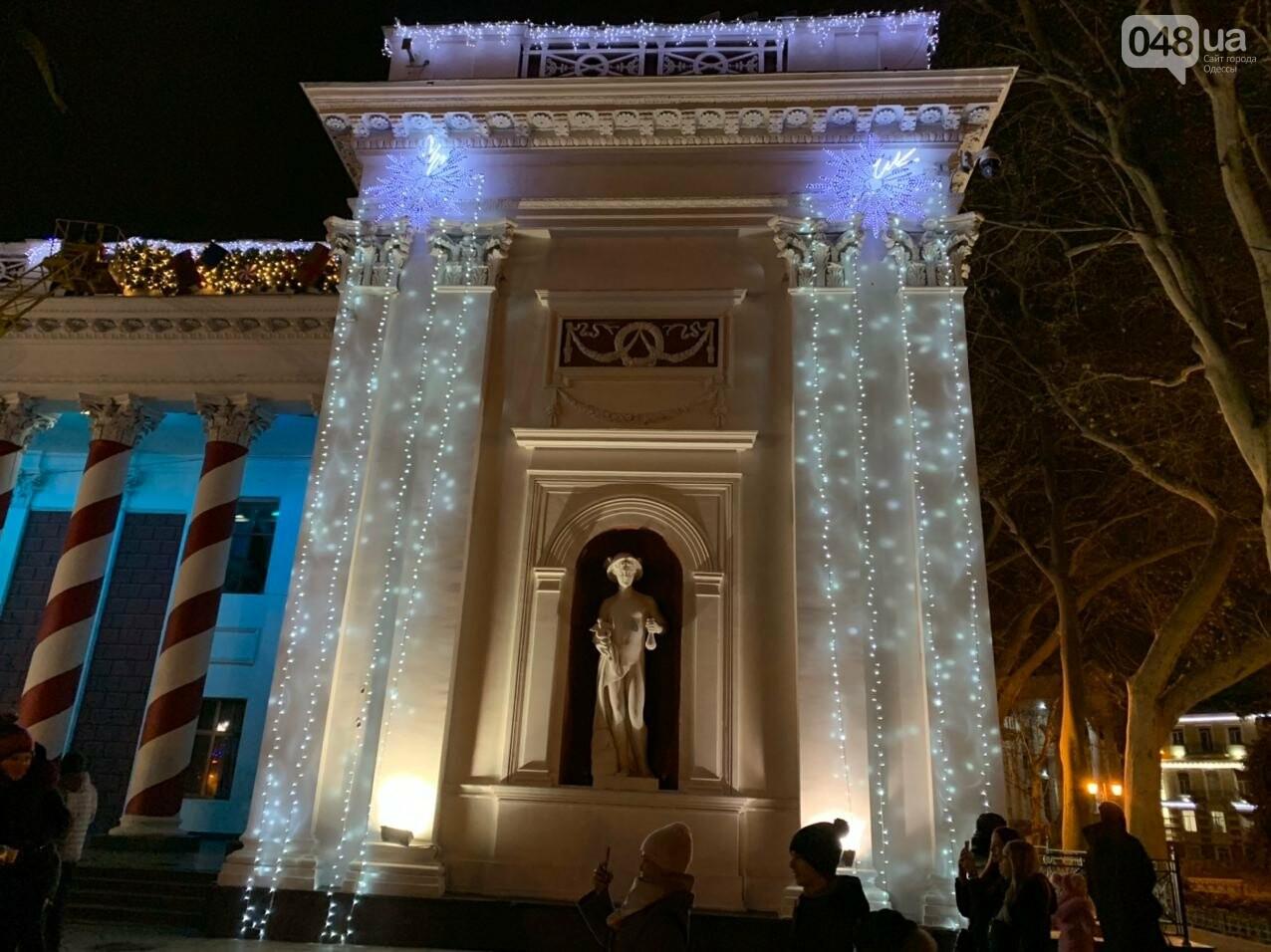 Фоторепортаж: В Одессе зажгли главную елку города, - ФОТО, ВИДЕО, фото-2
