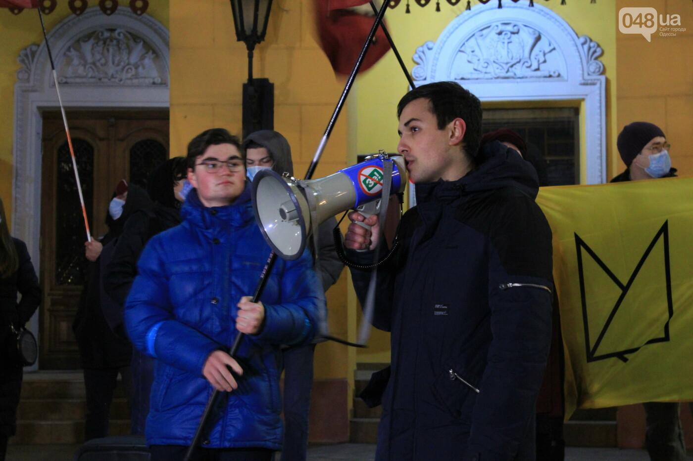 Одесский перформанс: связали и надругались над образованием возле Дюка, - ФОТО, ВИДЕО, фото-8