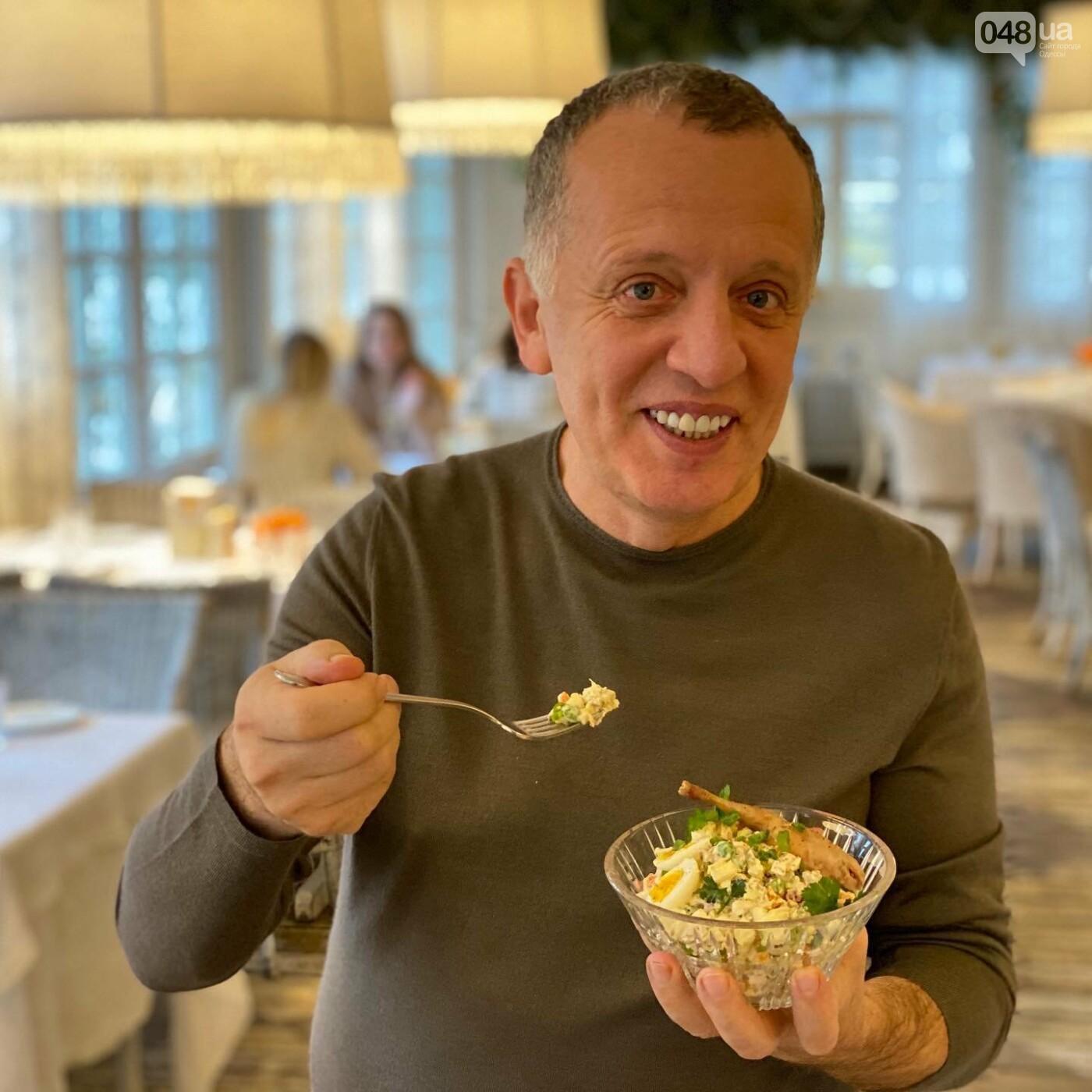 """Рецепт """"Оливье"""": готовит одесский ресторатор Савва Либкин, фото-1"""