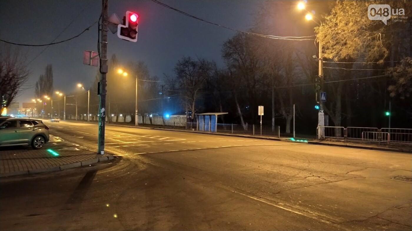 Умный пешеходный переход на Люстдорфской дороге в Одессе.