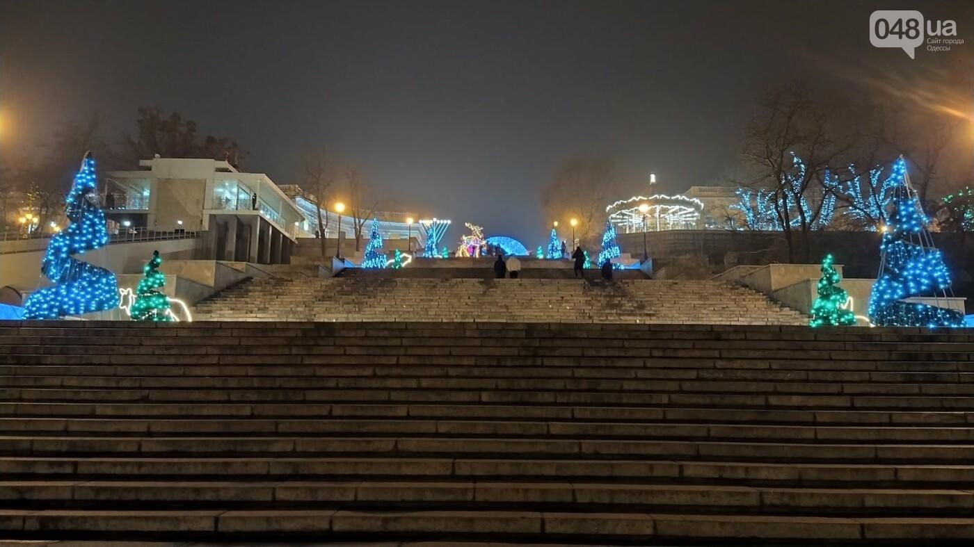 Новогодние огни Потемкинской лестницы и Стамбульского парка в Одессе, - ФОТОРЕПОРТАЖ, фото-8, ФОТО: Александр Жирносенко