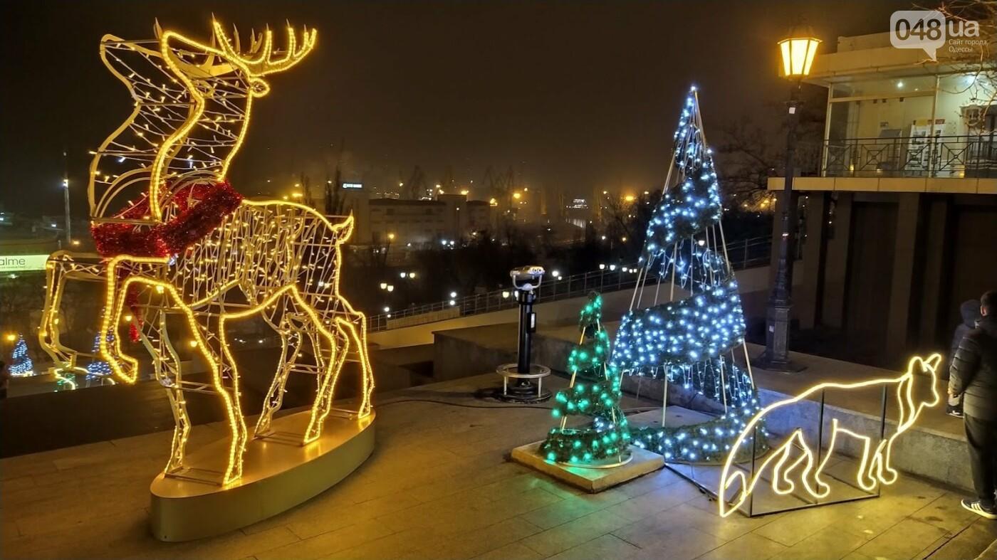 Новогодние огни Потемкинской лестницы и Стамбульского парка в Одессе, - ФОТОРЕПОРТАЖ, фото-5, ФОТО: Александр Жирносенко