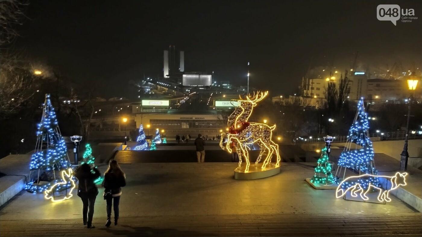 Новогодние огни Потемкинской лестницы и Стамбульского парка в Одессе, - ФОТОРЕПОРТАЖ, фото-2, ФОТО: Александр Жирносенко