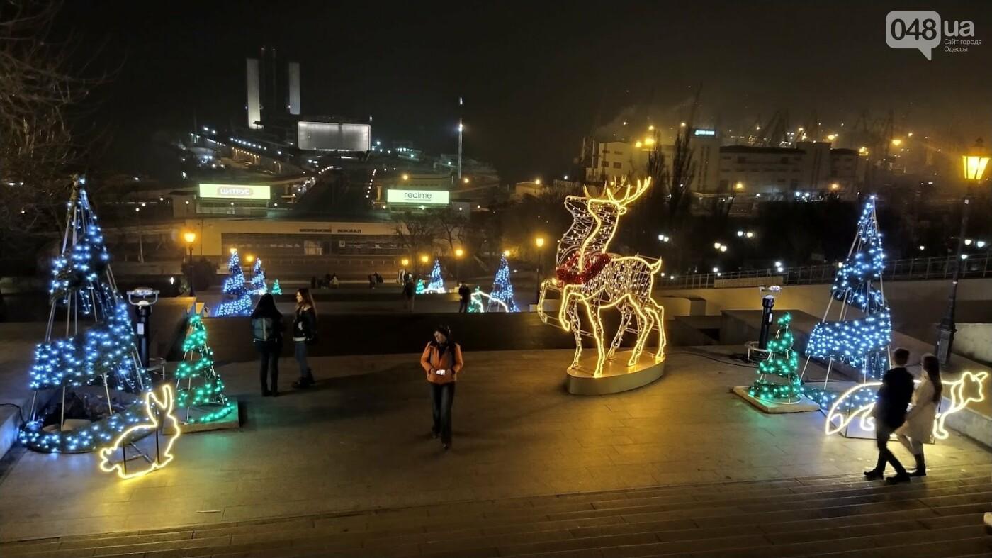 Новогодние огни Потемкинской лестницы и Стамбульского парка в Одессе, - ФОТОРЕПОРТАЖ, фото-3, ФОТО: Александр Жирносенко
