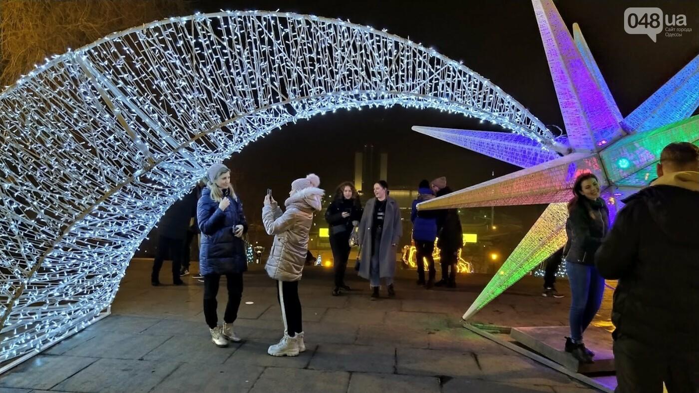 Новогодние огни Потемкинской лестницы и Стамбульского парка в Одессе, - ФОТОРЕПОРТАЖ, фото-4, ФОТО: Александр Жирносенко