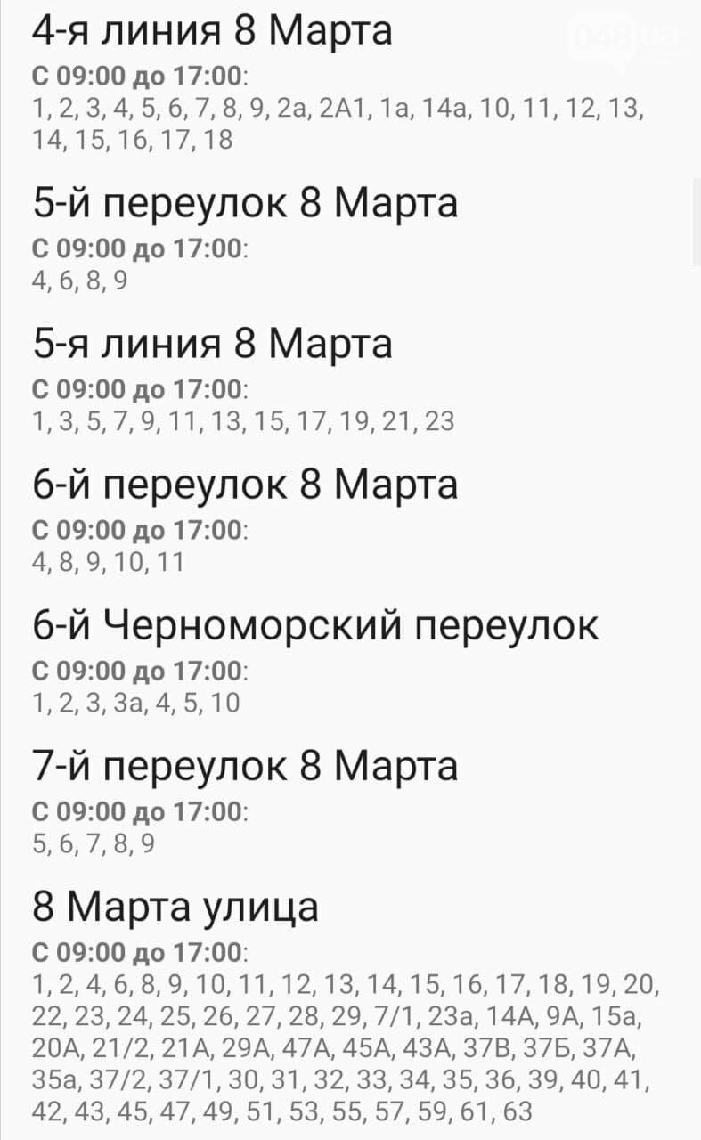 Отключения света в Одессе завтра: график на 29 декабря 4