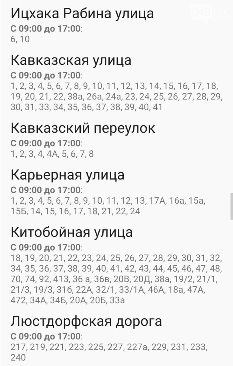 Отключения света в Одессе завтра: график на 29 декабря 9