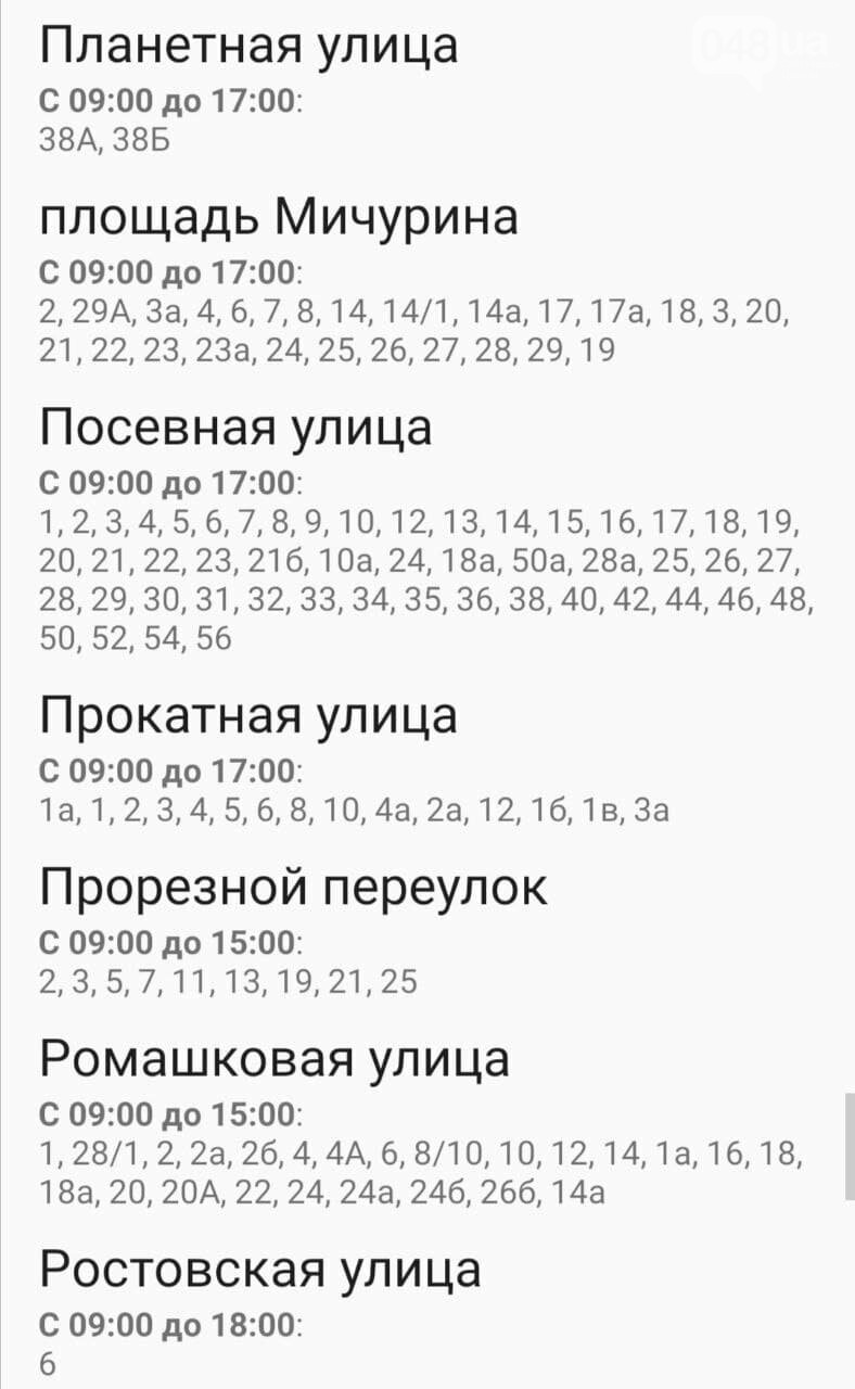 Отключения света в Одессе завтра: график на 29 декабря 13