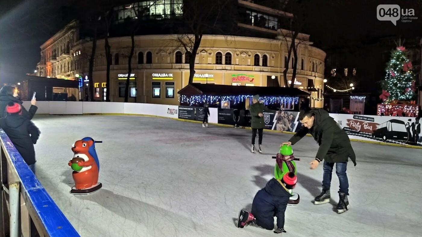 В центре Одессы открыли еще один ледовый каток, - ФОТОРЕПОРТАЖ, фото-2, ФОТО: Александр Жирносенко.
