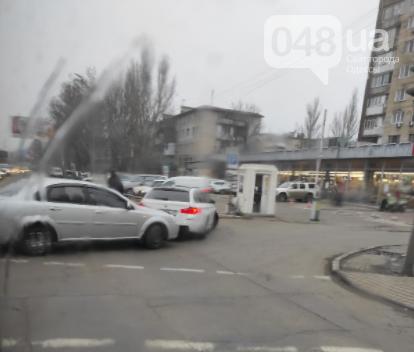 В Одессе образовалась пробка на маршала Малиновского из-за..., фото-11