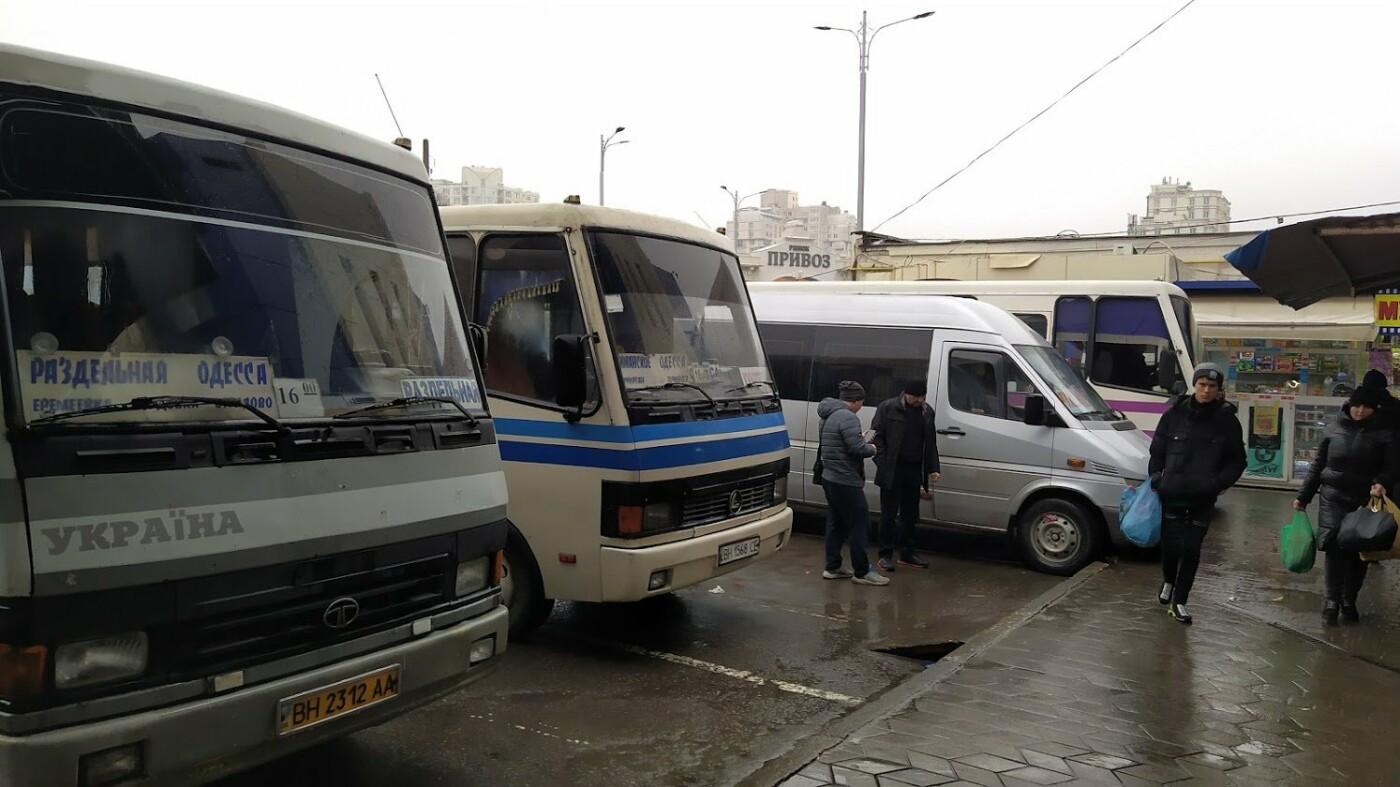В Одессе хотят запретить маршруткам из области заезжать в ц..., фото-55