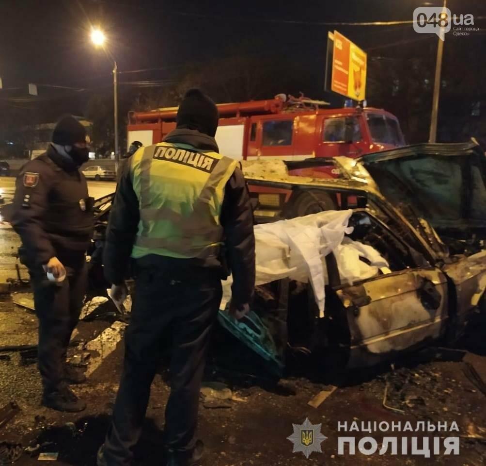 В Одессе в ночном ДТП погибли два человека, - ФОТО, ВИДЕО, ОБНОВЛЕНО, фото-6
