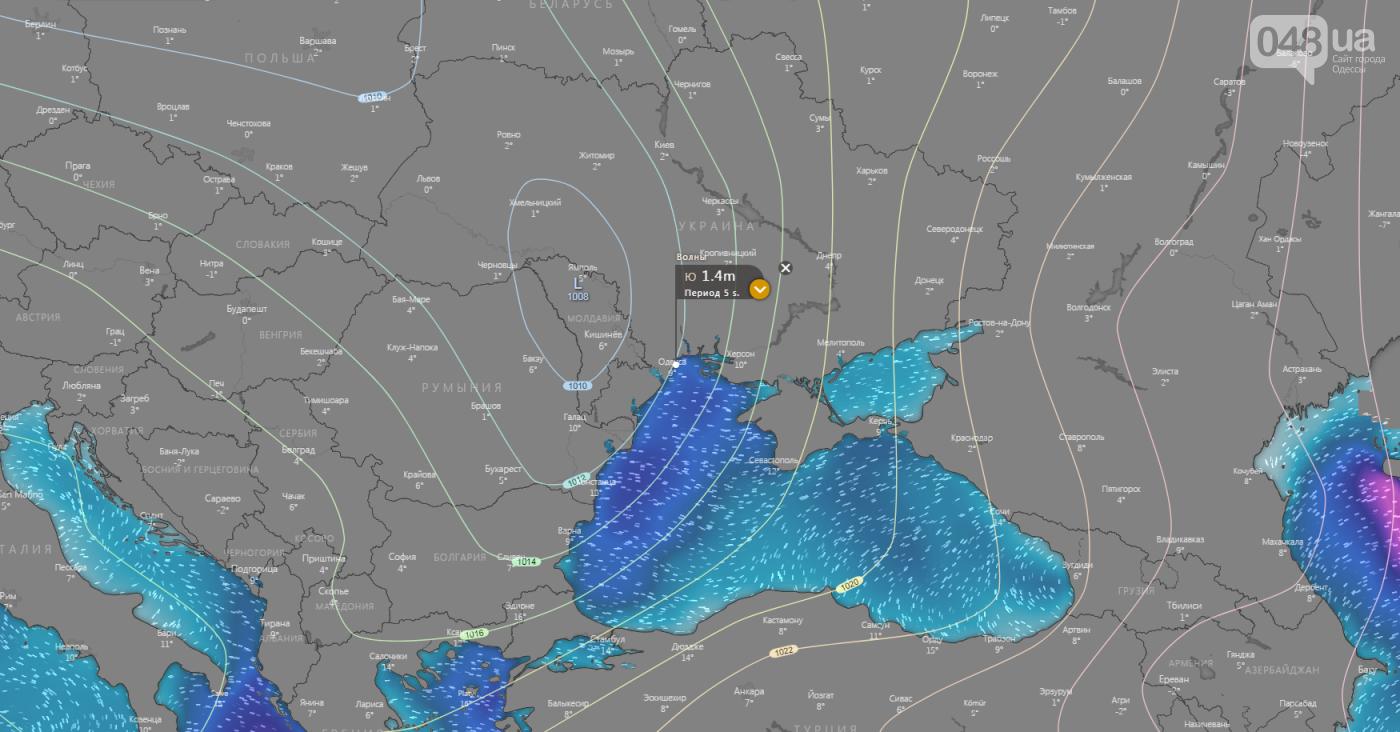 Погода в Одессе сегодня.3