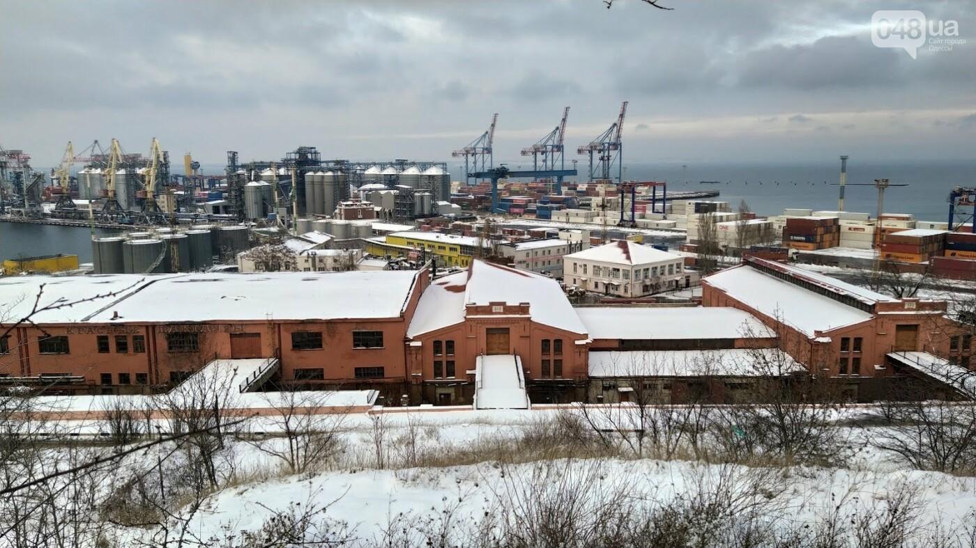 Как во время снегопада работал Одесский порт, - ФОТО, фото-5, ФОТО: Александр Жирносенко