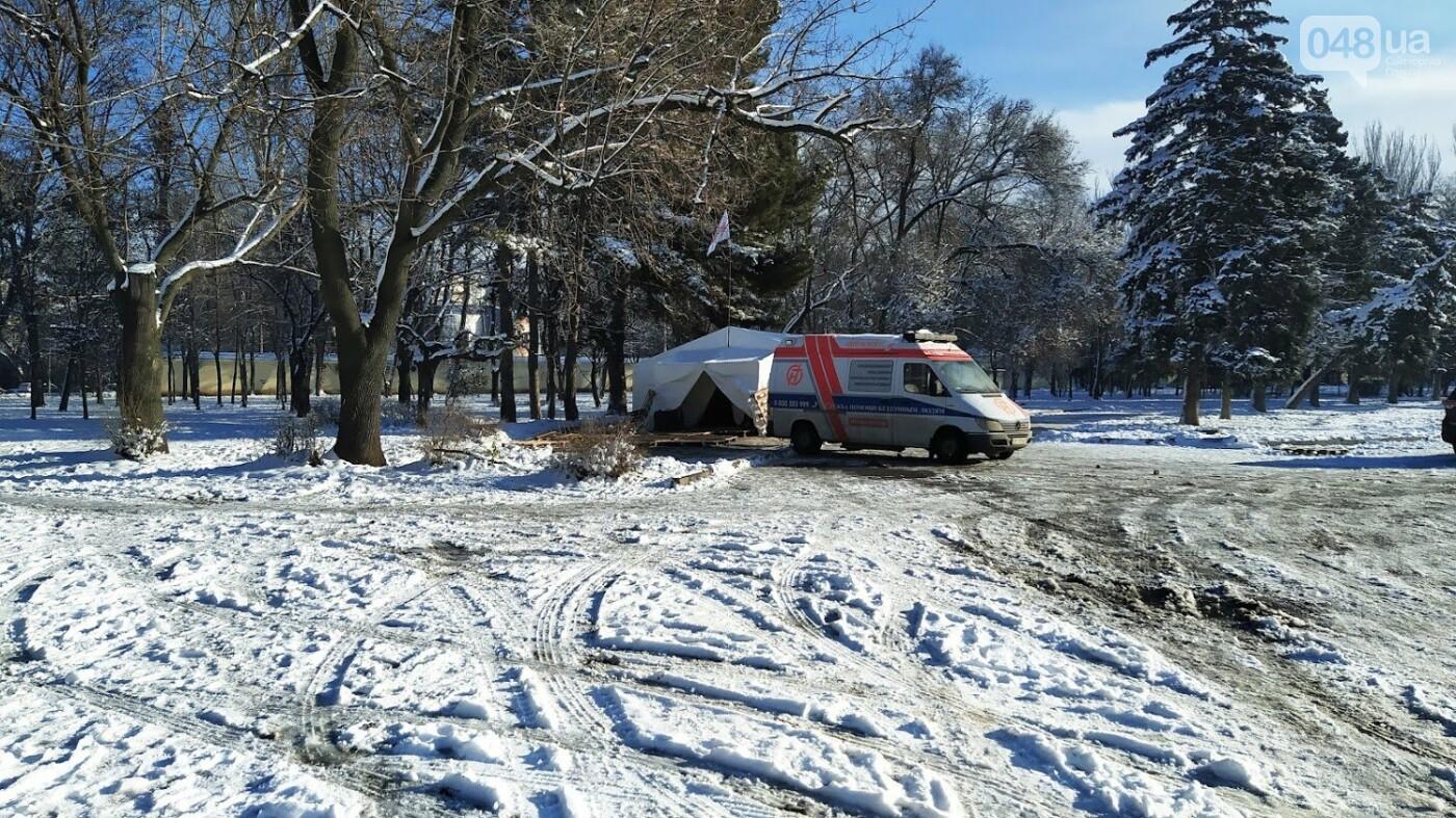 Бездомным в Одессе организовали место для обогрева, - ФОТО, фото-1, ФОТО: Александр Жирносенко
