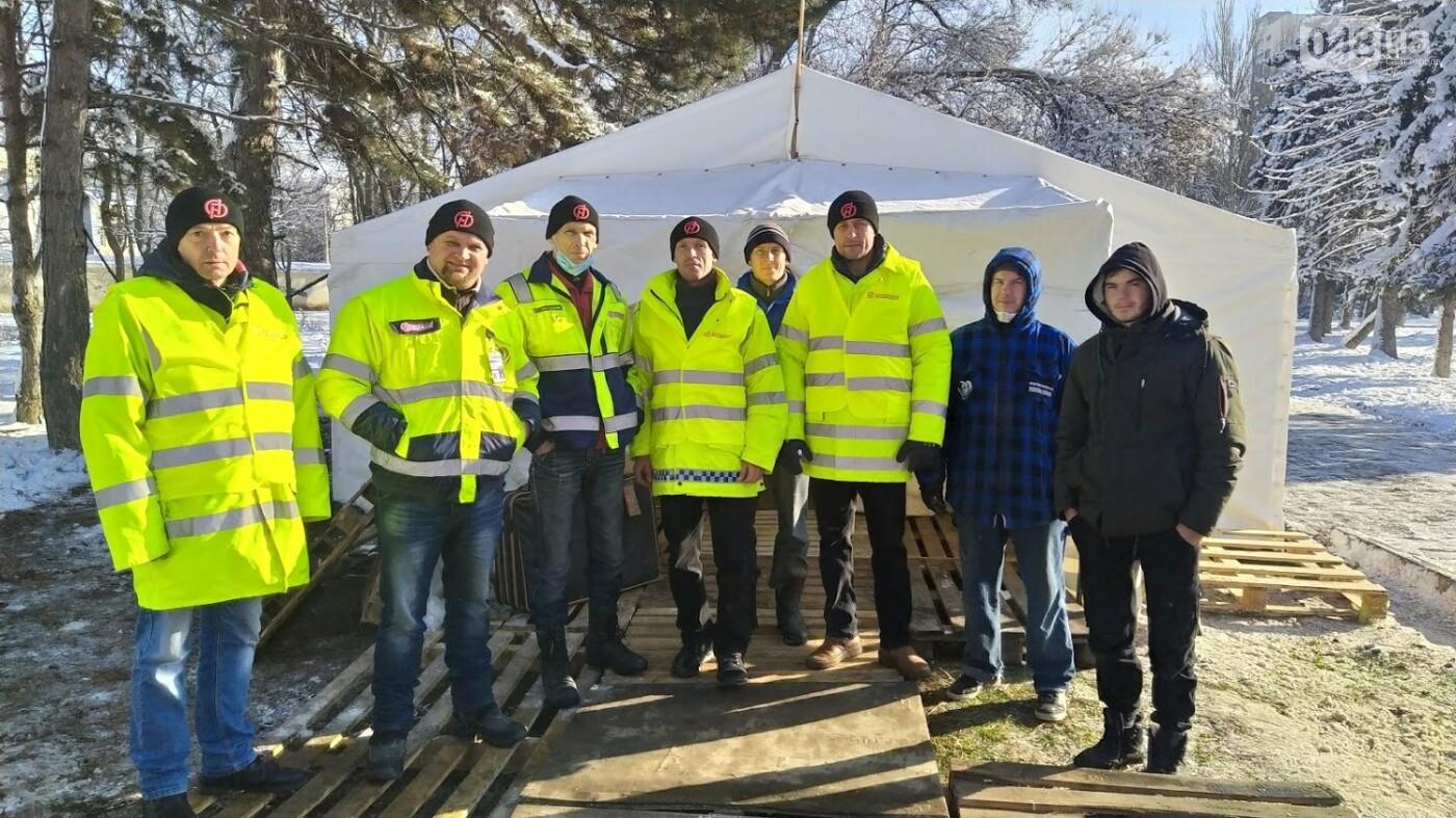 Бездомным в Одессе организовали место для обогрева, - ФОТО, фото-8, ФОТО: Александр Жирносенко