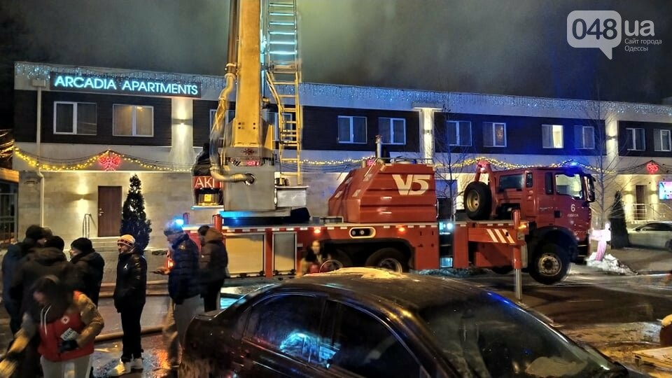 Пожар в Одессе: есть пострадавшие, - ФОТО, ВИДЕО, фото-22