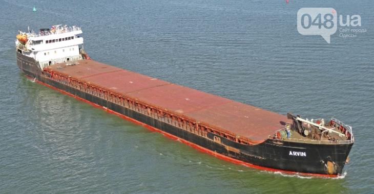 В Черном море потерпело крушение судно, зарегистрированное в Одессе, погибли моряки0