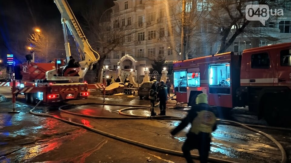 Пожар в Одессе: что случилось с людьми, - ФОТО, ВИДЕО, фото-4