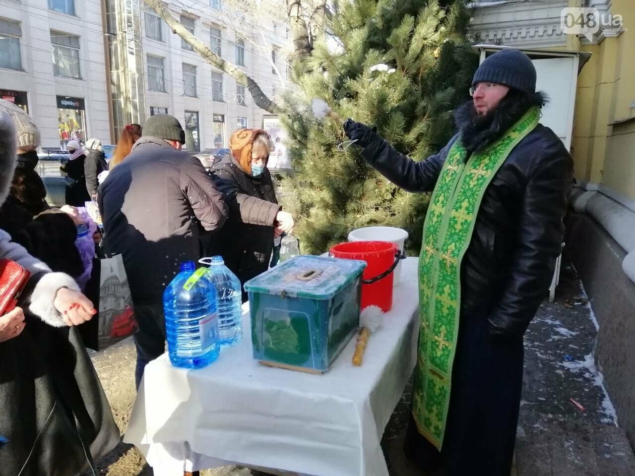 Крещение в Одессе: во всех храмах святили воду,- ФОТОРЕПОРТАЖ, фото-4